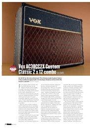 Vox AC30CC2X Custom Classic 2 x 12 combo£1,049
