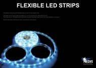FLEXIBLE LED STRIPS - Online-Electronica