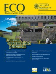 ECO Revista Académica - Universidad Rafael Landívar
