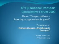 "Theme: ""Transport resilience – Impacting on opportunities for growth"""
