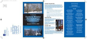 winter_derm.qxp:Layout 1 - Continuing Medical Education ...