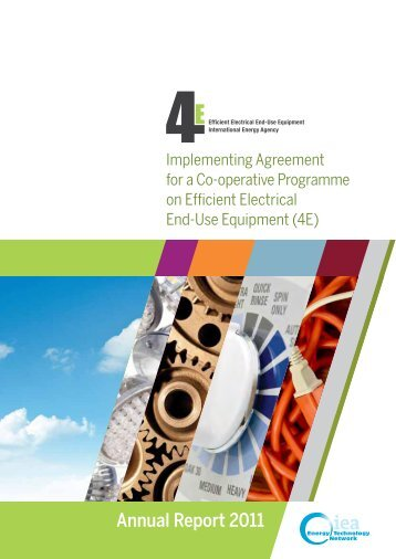Annual Report 2011 - 4E - Efficient Electrical End-Use Equipment