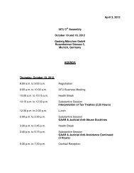 April 3, 2012 IATJ 3rd Assembly October 18 and 19, 2012 ... - Iatj.net