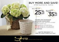 BUY MORE AND SAVE! - FTD, Inc.