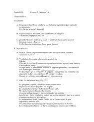 Actividades de repaso para el examen 1