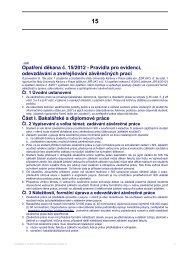 Opatření děkana č. 15/2012 - Pravidla pro evidenci, odevzdávání a ...