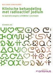klinische behandeling met radioactief jodium - St. Antonius Ziekenhuis