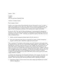 Company Contact Dear Company Contact - Alberta Used Oil ...