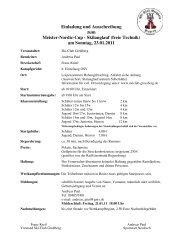 Einladung und Ausschreibung 11 - beim Skiclub Wunsiedel