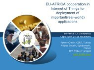 Internet of Things (IoT) - EuroAfrica-ICT