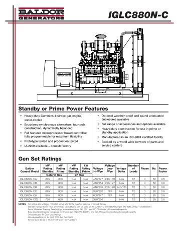 IGLC880N-C - Phase-A-Matic, Inc.