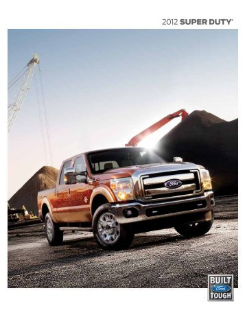 2012 Ford SuperDuty Brochure - Motorwebs