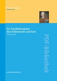 PDF | Ein Swedenborgianer liest Hahnemann und Kent