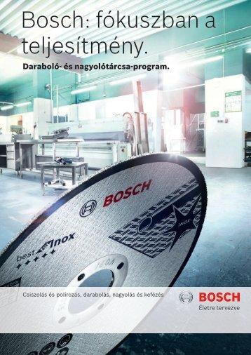 Bosch: fókuszban a teljesítmény.