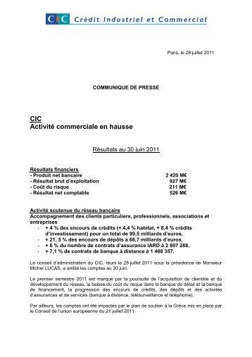 CIC - Banque Fédérative du Crédit Mutuel
