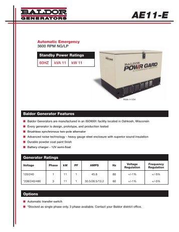 AE11-E - Phase-A-Matic, Inc.