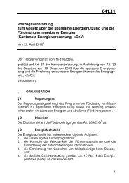 641.11 Energieverordnung - Energie Zentralschweiz