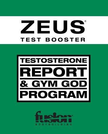 ZEUS - fusion vip - Fusion Bodybuilding