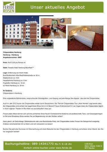 Chippendales Hamburg - Eventreisen - Trierischer Volksfreund