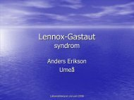 Lennox-Gastaut syndrom - BLF