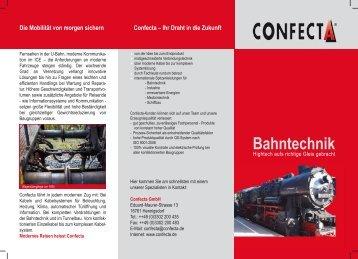 Bahntechnik - Confecta GmbH
