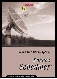 Scheduler 5.0 Step-By-Step