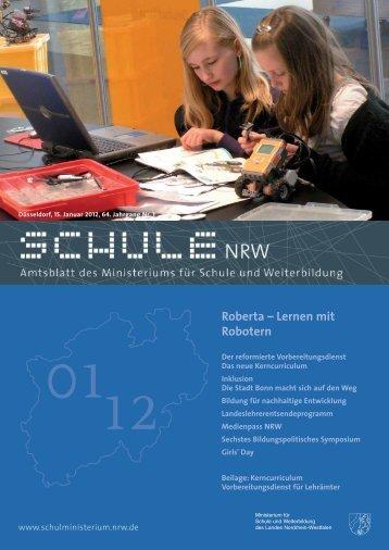 Roberta – Lernen mit Robotern - schul-welt.de