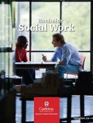 Bachelor of Social Work - Carleton University