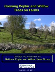 Growing Poplar and Willow Trees on Farms, National - FAO