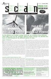 Issue 20 - January 2006 (pdf, 800K) - Sierra Club Canada