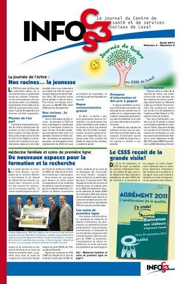 Volume 3 Numéro 6 - Centre de santé et de services sociaux de Laval