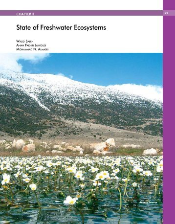 State of Freshwater Ecosystems - Arab Forum for Environment and ...