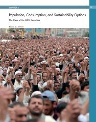 population, consumption, and Sustainability Options - AFED