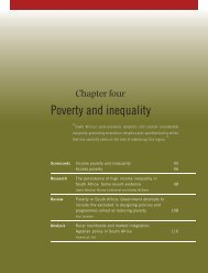 CHAPTER 4 Poverty and inequality - Institute for Justice and ...