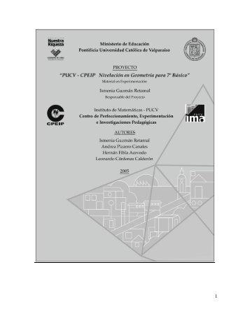 Libro del Profesor para Nivelación en Geometría para 7mo ... - Altavoz