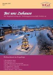 Mitgliederzeitung_12-2012 - Wohnungsgenossenschaft Zwönitz eG