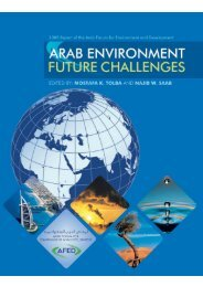 Arab Environment - Arab Forum for Environment and Development