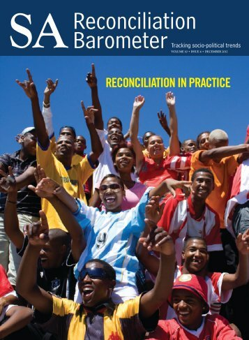 SARB Newsletter, Volume 10 Issue 4 - Institute for Justice and ...