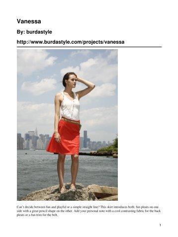 Vanessa - BurdaStyle.com