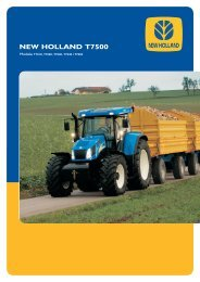 cnh t7500.indd - New Holland