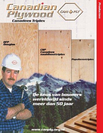 De keus van bouwers wereldwijd sinds meer dan 50 jaar
