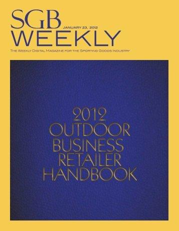 OUTDOOR BUSINESS RETAILER HANDBOOK 2012