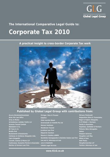 Corporate Tax 2010 - BMR Advisors