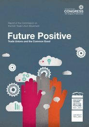 Future Positive - Irish Congress of Trade Unions