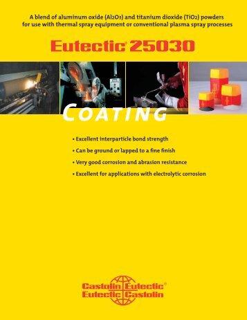Eutectic 25030.indd - Castolin Eutectic