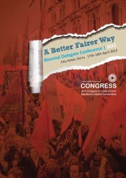 Publication in pdf format - Irish Congress of Trade Unions