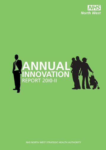 Annual Innovation Report - NHS North West