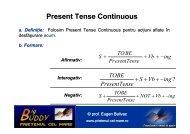 Present Tense Continuous - PRIETENUL cel Mare – Big BUDDY