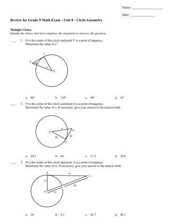 Number Names Worksheets geometry math worksheets : Math Worksheets For Grade 9 Geometry