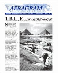Summer 1998 - Ancient Egypt Research Associates